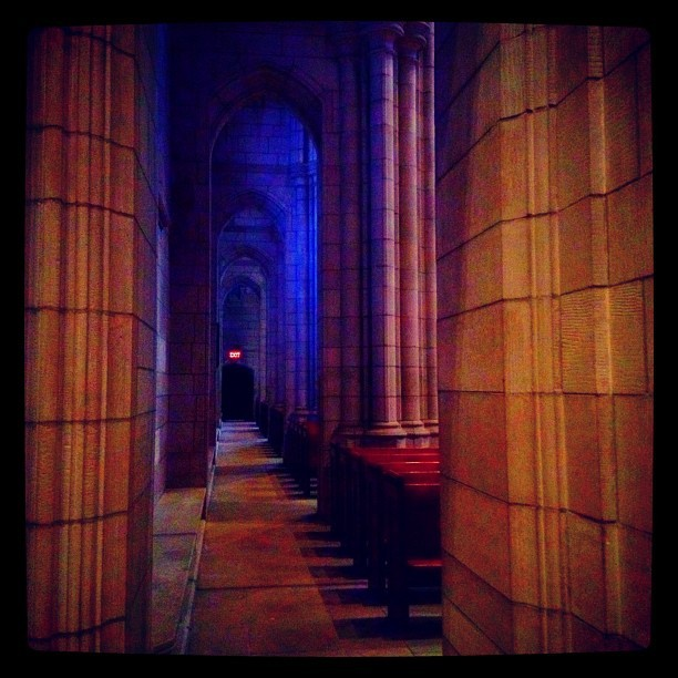 Hallowed Hall (Taken with Instagram at Princeton University Chapel)