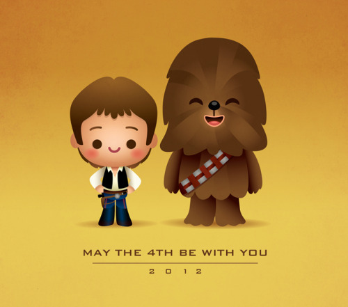 tiefighters:  May the 4th be with you. Illustration by Jerrod Maruyama