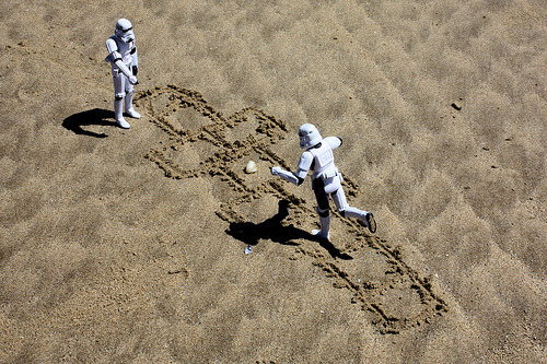 nprfreshair:  May the Fourth be With You, Internet. (Happy International Star Wars Day!) Related: George Lucas on Fresh Air James Earl Jones on Fresh Air Carrie Fisher on Fresh Air Ewan McGregor on Fresh Air Hopscotch (by Stéfan)