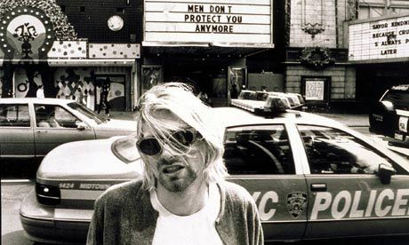 As Courtney Love cedes all rights to Cobain's image, where it will be used is anyone's guess • Photograph: Stephen Sweet/Rex Features