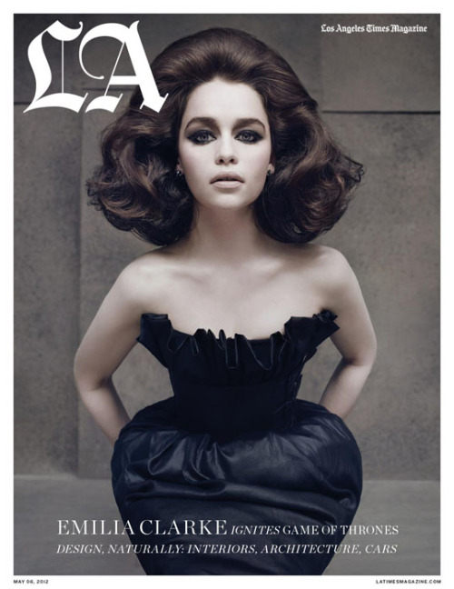 Emilia Clarke (Los Angeles Times Magazine, May 2012) (magazinewall:)