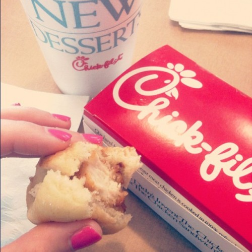 this is the making of a great morning. (Taken with Instagram at Chick-fil-A)