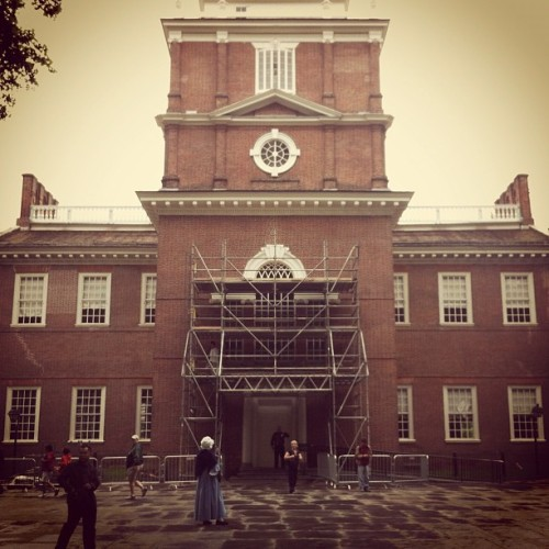 Independence Hall #history #philadelphia (Taken with Instagram at Independence Hall)