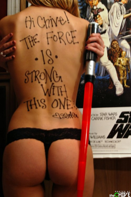 ourtastymeats:  Sexy Star Wars Day
