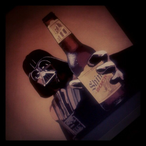 May the Fourth be with you #StarWarsDay #Beer (Tomada con instagram)