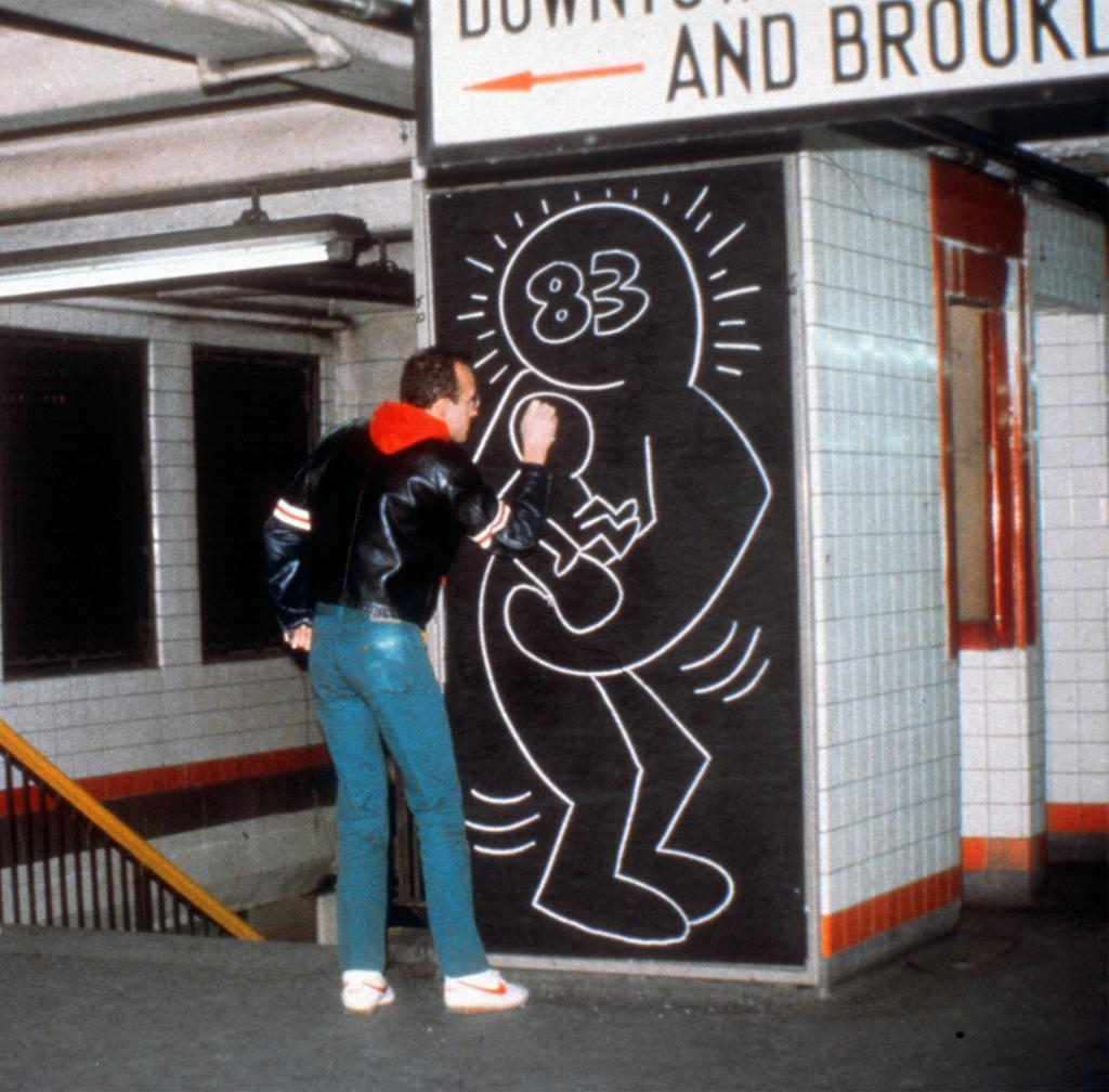 Today would have been Keith Haring's 54th Birthday.