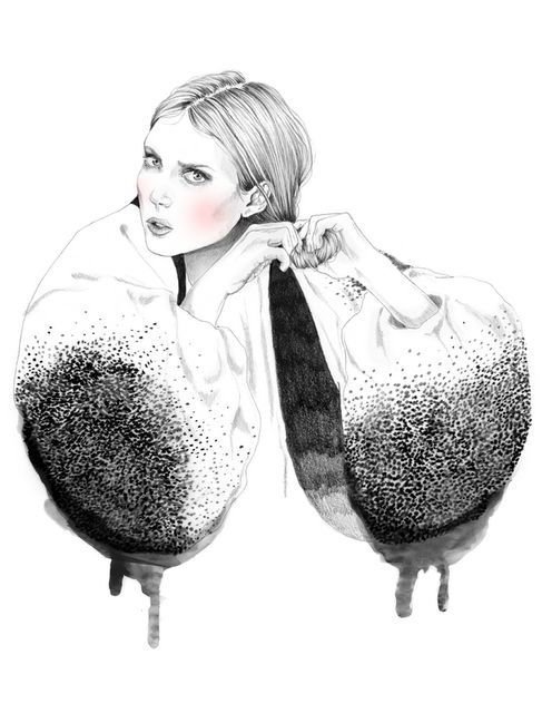 devidsketchbook:  artandfashionillustrations | tumblr