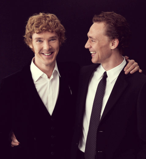 LOKI HANGING WITH SHERLOCK. It's like…an eyegasm.