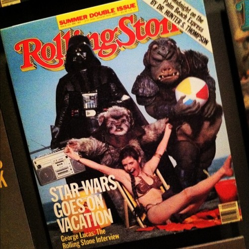 rollingstone:  Happy #StarWarsDay - May the Fourth be with you! Check out our August 4, 1983 cover: (Taken with instagram)
