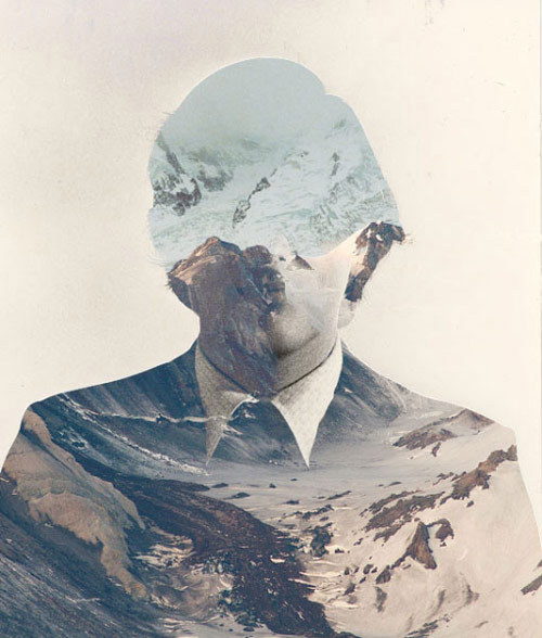 "crematorie:  ""Landscape"", digital collage by Matt Wisniewski."