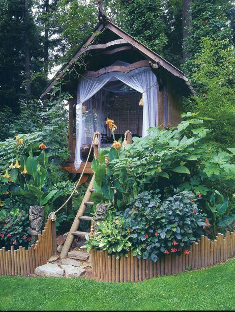 the ultimate garden nook!