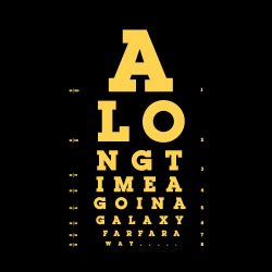 Not the Eye Chart You're Looking For
