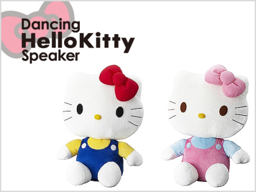 Hello Kitty Dancing Speaker  For iPod iPhone Red or Pink This item is officialli licensed by Sanrio MORE INFO↓↓ http://www.flutterscape.com/product/no/20521/hello-kitty-dancing-speaker-for-ipod-iphone-red-or-pink?discovery_id=23118