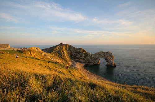 A Lulworth Sunset (by sub_lime79) West Lulworth, Dorset, England, UK