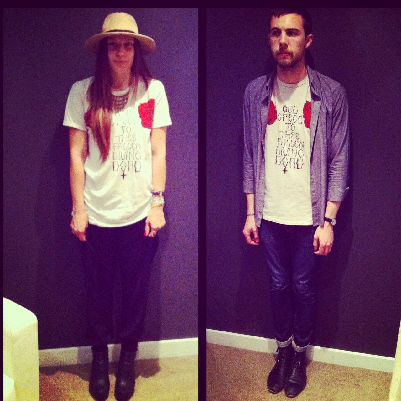 Who wore it best at Bastille SLC Zuriick Tees