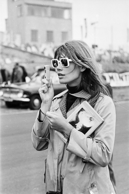 "Your Morning Shot: Francoise Hardy ""I was for a very long time passionately in love with her, as I'm sure she's guessed. Every male in the world, and a number of females also were, and we all still are."" - David Bowie"