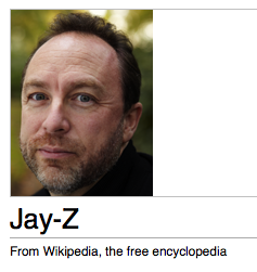 That's not right, Wikipedia!!