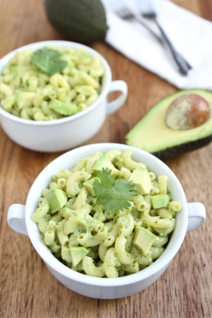 stovetop avocado mac and cheese.
