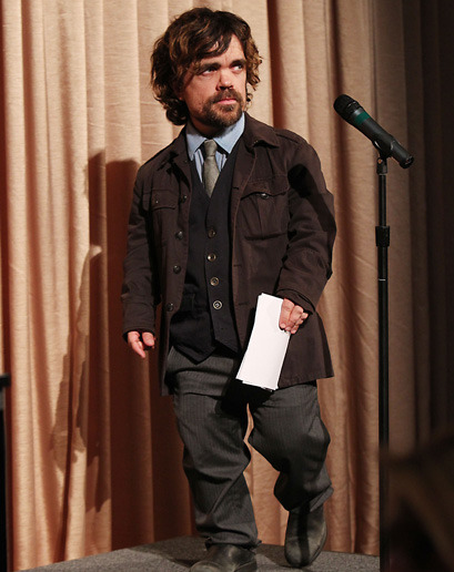 gqfashion:  The Week in Style Dinklage Swagger.  Breaking News: Peter Dinklage dresses better than every man ever.