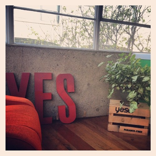 inside the yes to office in soma (Taken with instagram)