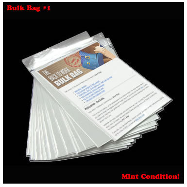 Finally!!!  Bulkbag #1 is out! Sign up here to get yours weekly from Merlin and Dan.