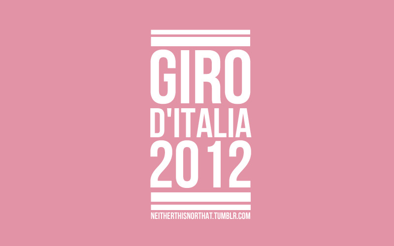 So this time tomorrow the Prologue for the 2012 Giro D'Italia will be finished and the Giro will be well underway, i know its not the Tour de France and outside of the cycling world it doesn't really register but The Giro is easily my favourite Grand Tour and i cannot wait for it to get started. Should be a chance for Cav to get some wins under his belt aswel with a much easier route for this years Giro compared to last years monster route, also cant wait to see Henao in his first Grand Tour for Team Sky. Got my Velogames Giro Fantasy Team all set up and ready and ill post a shot of my team later on today.
