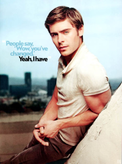 agoodstart:  Look. At. Him. Zac Efron from the new issue of Garage Magazine.