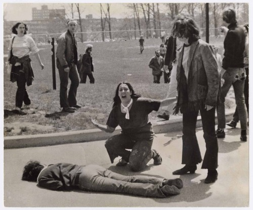alapoet:  NEVER FORGET.Kent State University, May 4, 1970http://en.wikipedia.org/wiki/Kent_State_shootings