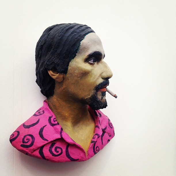 by John Ahearn #fny12  (Taken with Instagram at FRIEZE Art Fair 2012)