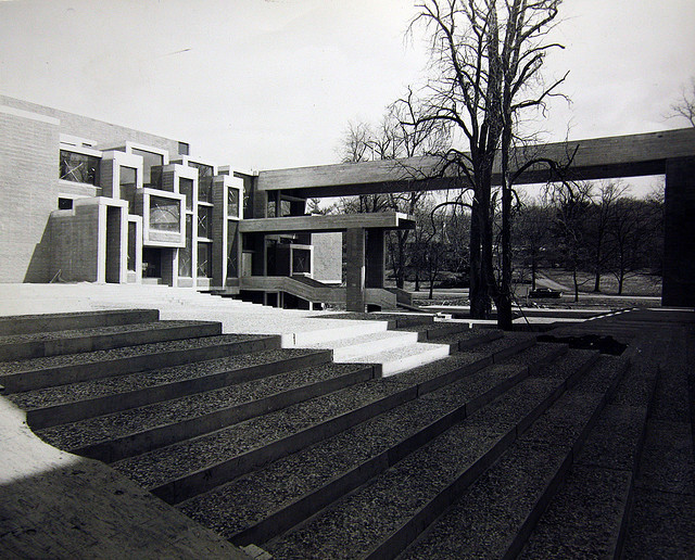 Orange County Government Center, Goshen, New York, 1971 (Paul Rudolph) The Wall Street Journal reports a proposed resolution to demolish and replace this building has been voted down by Orange County elected officials: http://on.wsj.com/KvvAup Thanks to any and all who took the time to sign the petition organized by the World Monuments Fund. Our voices have been heard.