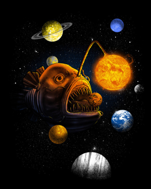 Cosmic Angler by Jonah Block