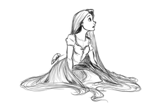 thedisneytruth:  Rapunzel by arabianberry