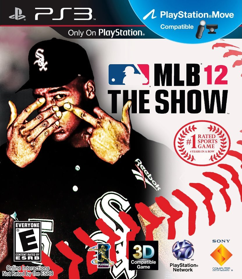Check out Frank Thomas on the Cover of MLB THE SHOW 12….Then check him out on THE PLAYERS CLUB 1PM EDT/ 10AM PDT on CBS!