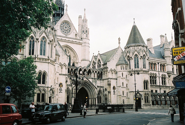 73whispers:  royal courts of justice by bendisdonc on Flickr.