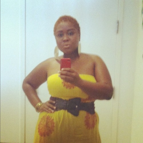 #whatimwearingtoday #photoadaymay #oshunyellow (Taken with instagram)