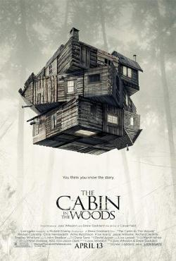 CABIN IN THE WOODS 3 stars out of 4 There will always be a solid argument between those who crave all the latest information regarding a film and diehard cinephiles going into a theater completely cold. It's not that one method is better than the other, or more preferable, per se. Honestly, it's next to impossible to know virtually nothing about a movie these days, what with online marketing and the incessant buzz of the blogosphere, but this doesn't always hold true when it comes to indie films. Certain movies, though, are tailor-made specifically to this second group of people; ones that shun spoilerish advance reviews and the endless stream of Internet chatter. Certain movies demand to be seen through virgin eyes at a time where nearly every single plot point is telegraphed in studio-approved trailers, which all leads to this new movie called Cabin in The Woods. READ FULL REVIEW HERE