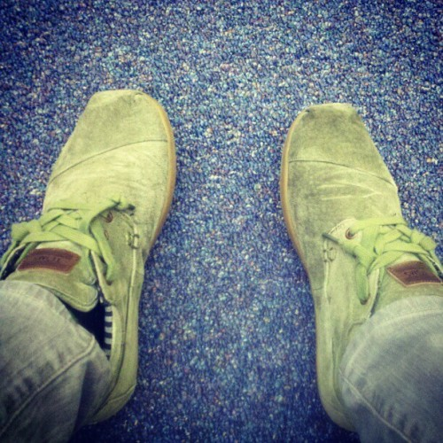 TOMS..had em before everyone else lol  (Taken with instagram)