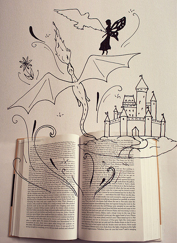 prettybooks:  Book's are magical (by nikynator1993)