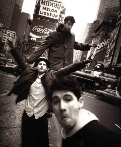 The Beastie Boys taken by David LaChapelle (circa 1986) R.I.P. MCA. The Beastie Boys helped shape my musical tastes & Adam Yauch will be sorely missed.