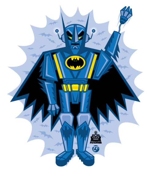 Beware, the Batbot is on patrol