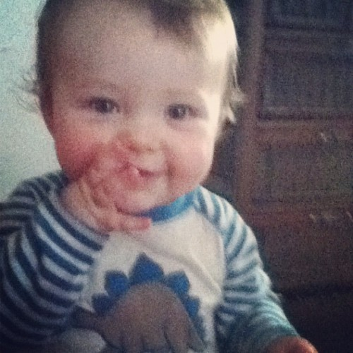 William my love.  (Pris avec instagram)