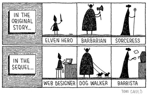 283. Sequel by tom gauld on Flickr.