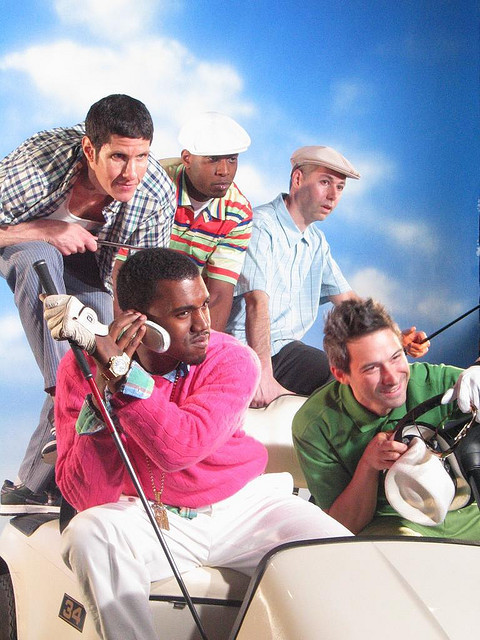 Beastie Boys, Talib Kweli, and Kanye Complex cover shoot in 2009