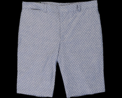 Gitman Vintage Polka Dot Chambray Shorts.