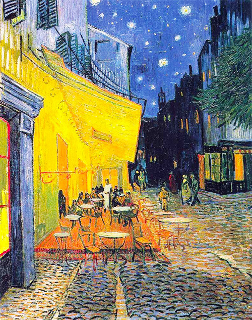 Vincent van Gogh - The Cafe Terrace on the Place du Forum, 1888
