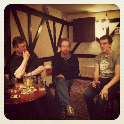 #shropgeek in action (some other people)  (Taken with instagram)