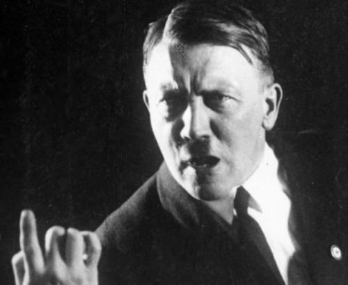 Hitler Used Cocaine and Had Semen Injections Adolf Hitler farted uncontrollably, used cocaine to clear his sinuses, ingested some 28 drugs at a time, and received injections of bull testicle extracts to bolster his libido. The startling revelations come from Hiltler's medical records — now up for auction at Alexander Historical Auctions of Stamford, Conn (full catalogues here and here). Bidding for the documents, which include ten x-rays of various views of the dictactor's skull, the results of several electroencephalogram (EEG) tests, and sketches of the inside of his nose, ends Tuesday and Wednesday. keep reading