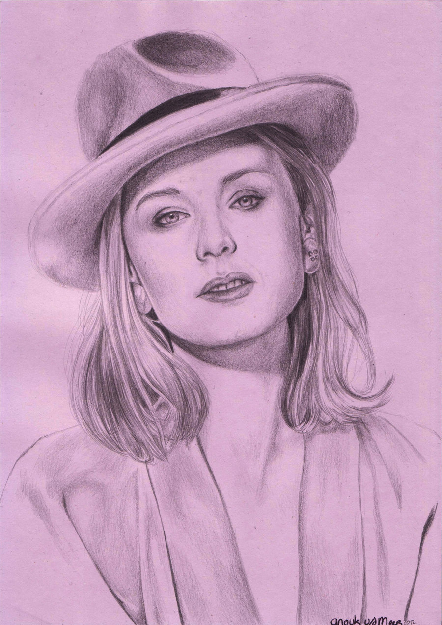 Finished drawing Roisin Murphy by =pepper2006