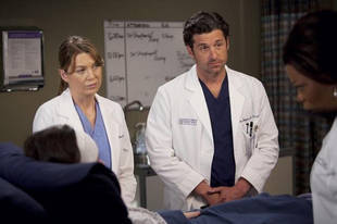 "Click on the photo to watch the Canadian preview for Grey's Anatomy Season 8, Episode 23: ""Migration,"" where Derek gets an amazing job offer of his own! Do you think MerDer will move to Boston?"