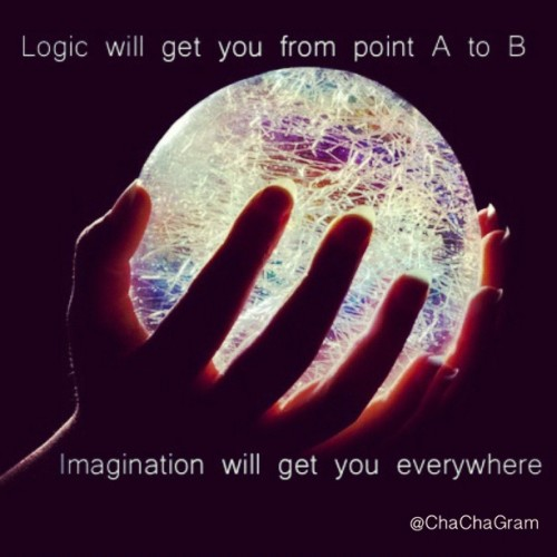 Let your imagination guide you! #quote #quotes #chacha #clubsocial #dailyedit #inspiring #picoftheday #quoteoftheday #instaquote #instagram #iphone (Taken with instagram)